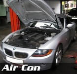 BMW Air Con Servicing at STR Service Centre Norwich, Norfolk